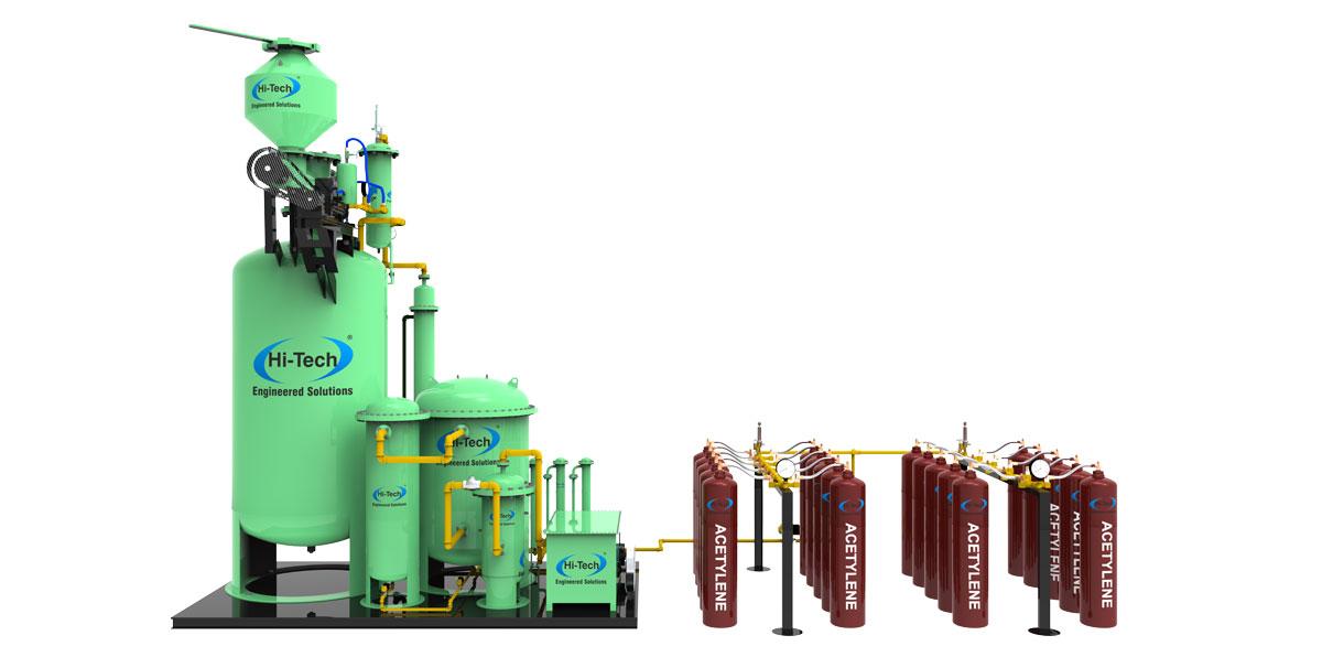 Transportable Acetylene Filling Plants Onsite Gas