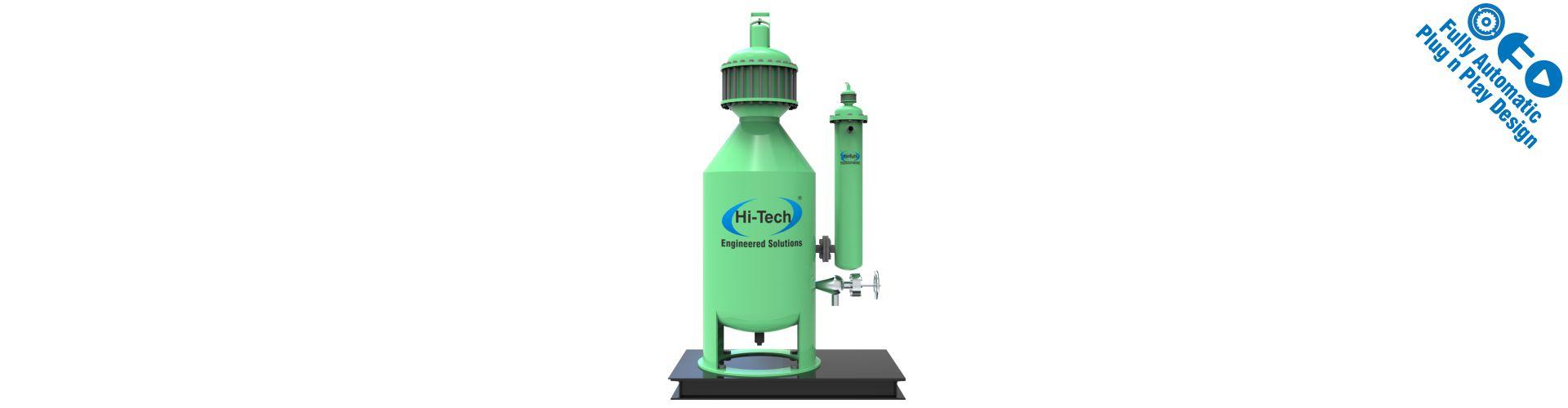 portable small capacity acetylene plant