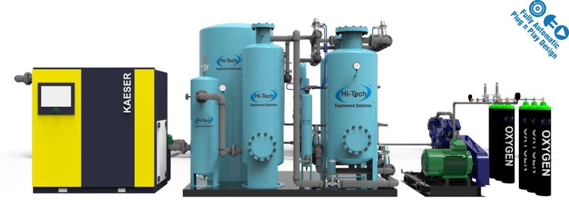 standard oxygen cylinder filling