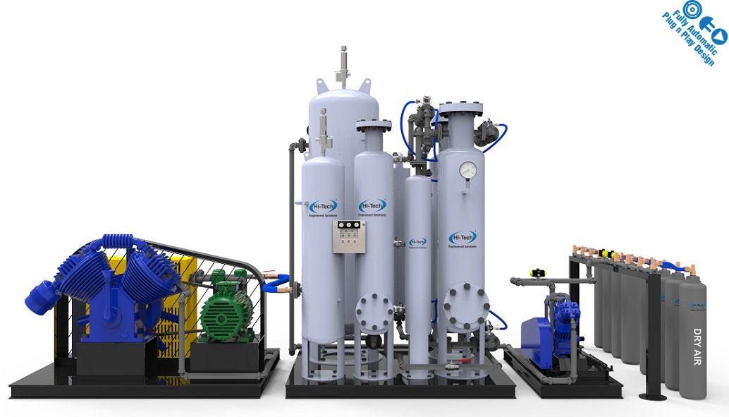 Dry Air Plant Onsite Gas Generation Systems Medical