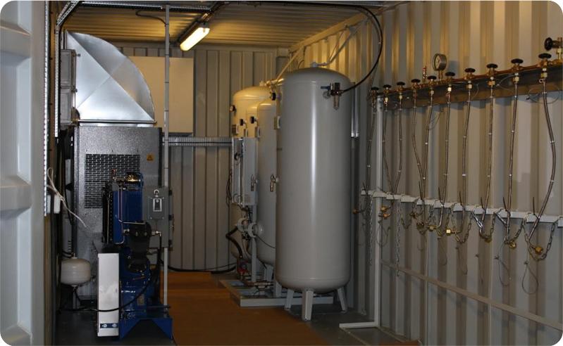 oxygen medical plant